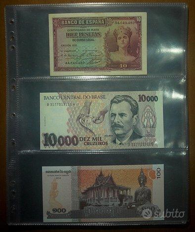 Fogli per Banconote a 3 e 4 Settori