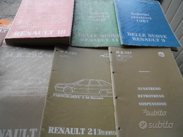 Manuali originali auto renault/impianti audio
