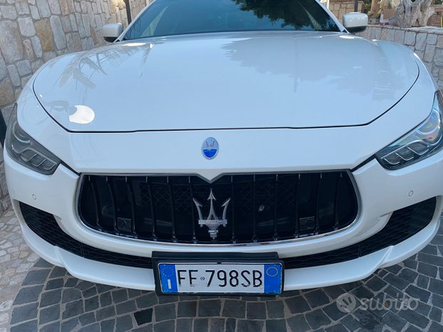 Maserati ghibli Diesel 3.0 anno 2016