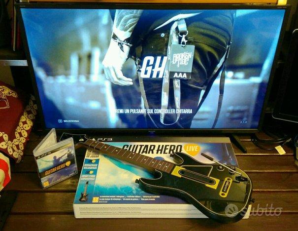 Gioco Videogame musicale Guitar Hero Live per PS3