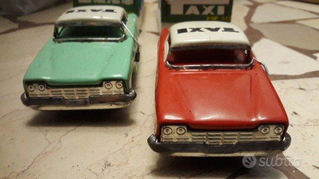 Modellini auto in latta vintage