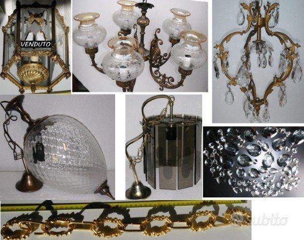 Lampadari vintage a sospensione e faretti arredamento e for Subito it arredamento e casalinghi