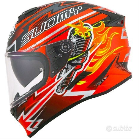 Casco suomy integrale stellar orange da scontare
