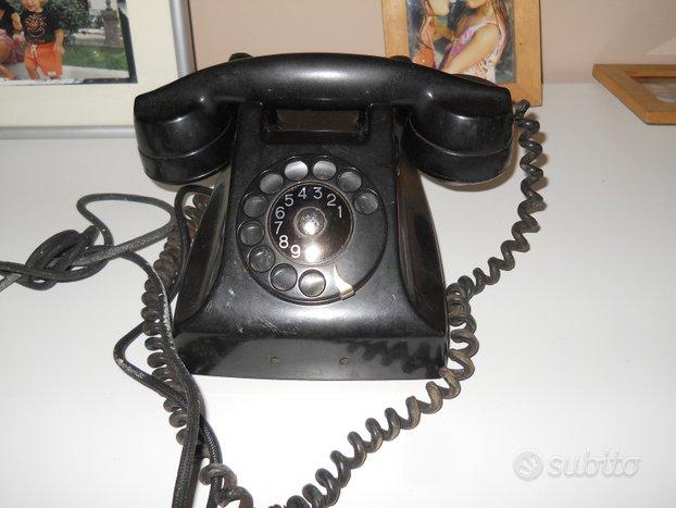 Telefono bachelite nero da scrivania