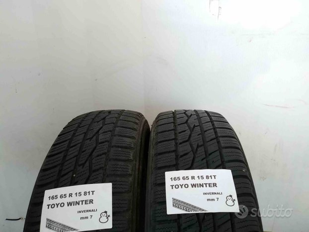 Gomme usate 165 65 r 15 toyo