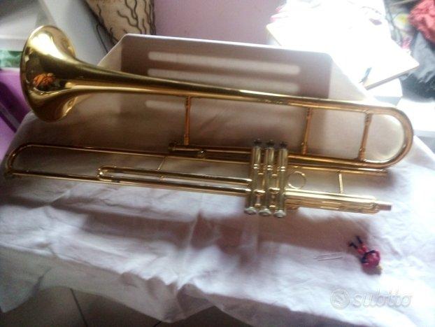 Trombone Tenore Artisan in Si bemolle a Pistoni