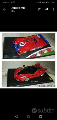 Modellini Ferrari 1/43