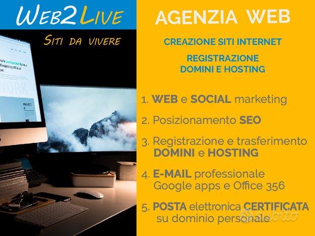 Web Agency Realizzazione Siti Web ed Ecommerce
