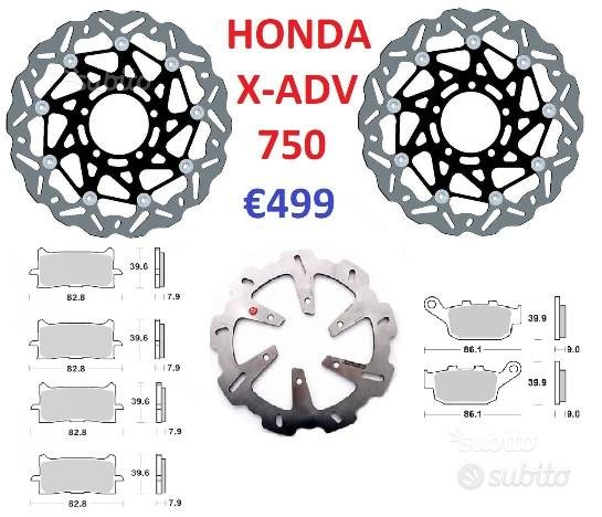 Kit dischi e pastiglie braking honda x adv 750