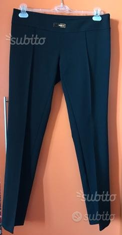 Pantalone elegante nero CELINE B. Originale Nuovo