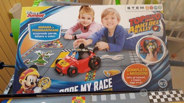 Topolino code my race di Clementoni