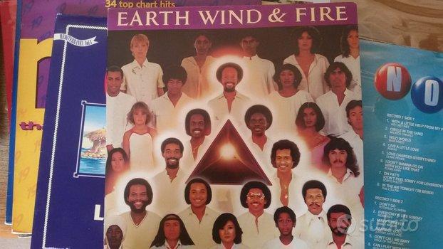 EART WIND & FIRE.-FACES doppio album