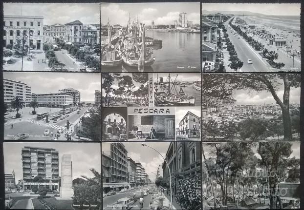 Pescara - Lotto di 29 cartoline a b/n