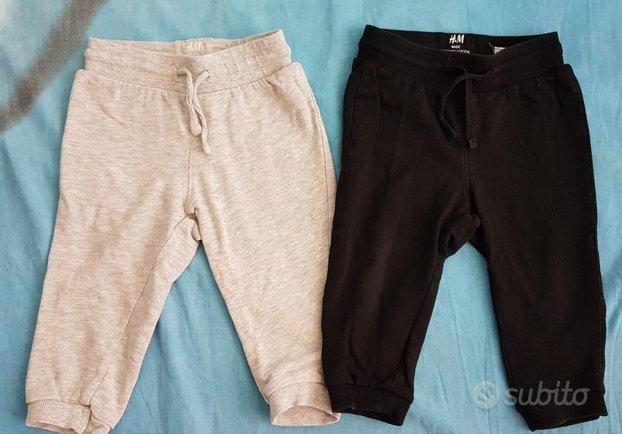 Tris pantaloni tuta H&M, 9/12 mesi