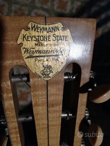 Weymann guitar banjo degli anni '20.banjo chitarra