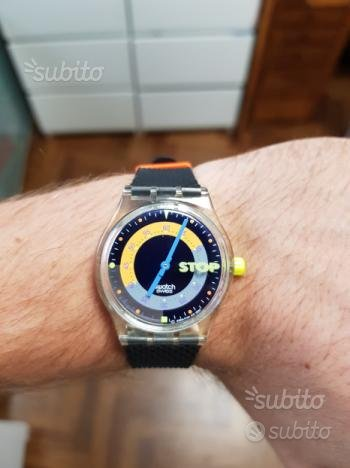 Swatch stop watch vintage