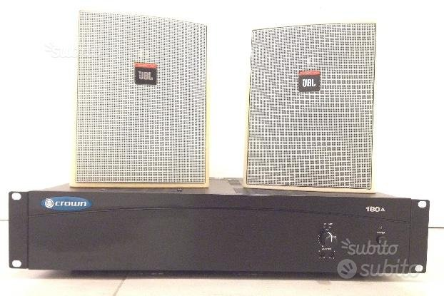 Amplificatore Crown 180A