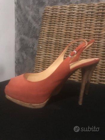Sandalo tacco Zanetti numero 37.5
