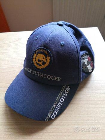 Cappelli Marina Militare con visiera