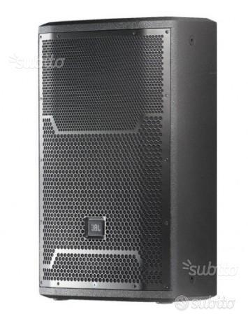 Coppia casse acustiche JBL PRX 712 con custodie