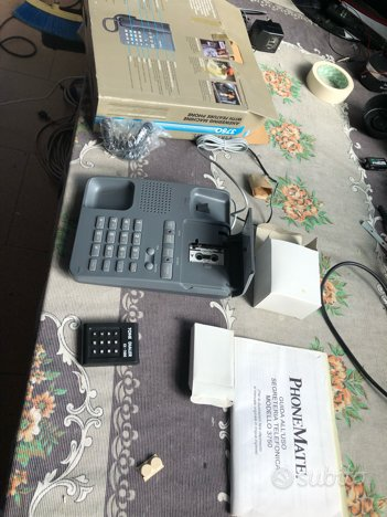 Telefono fisso con segreteria telefonica
