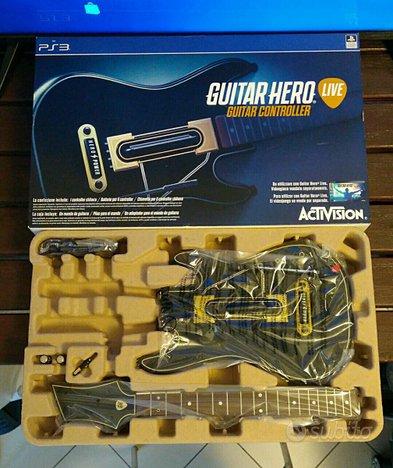 Gioco controller musicale Guitar Hero Live per PS3