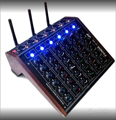 Centralina monitor wireless per in-ear 6 canali