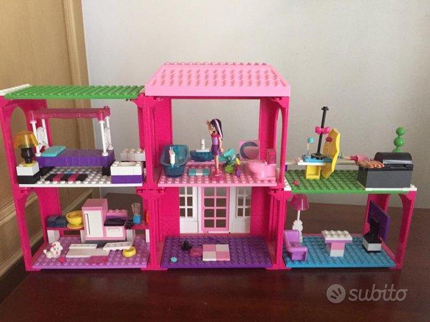 MEGA Bloks Barbie Build-n-Play FAB Mansion 80149