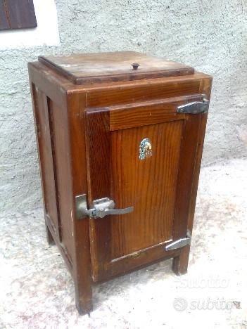 Ghiacciaia d'epoca anni 50