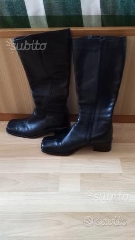 Stivali in vera pelle
