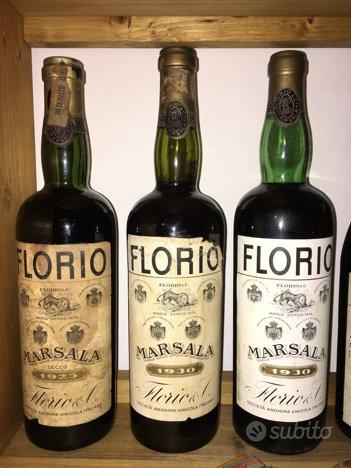 Florio e Marsala da collezione