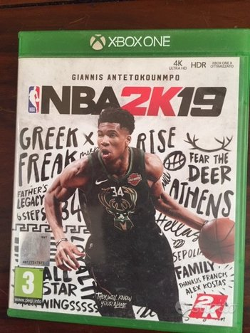 NBA 2K 2019 XBOX versione Italiana