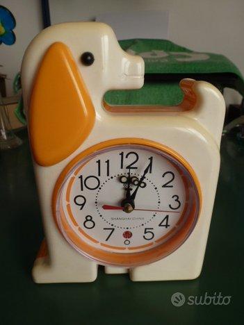 Orologio sveglia meccanico anni 90