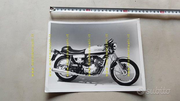 Moto Morini 350 Sport 1975 foto cartella stampa