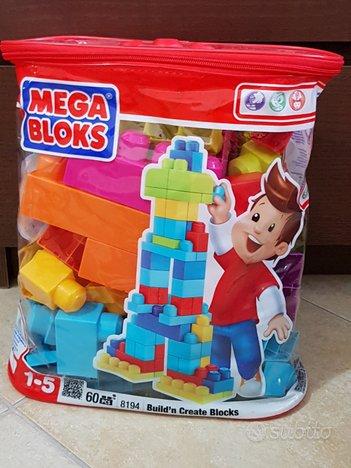 Gioco Costruzioni Mega Bloks 60 pezzi