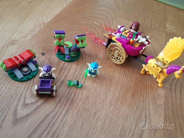 Lego elves carro alato e goblin