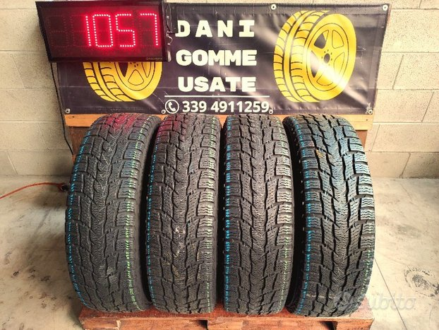 4 Gomme Usate 215 75 16C TERMICHE 75'% NOKIAN