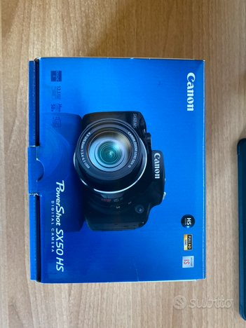 Fotocamera Canon Power Shot SX50 HS Super Zoom 50X