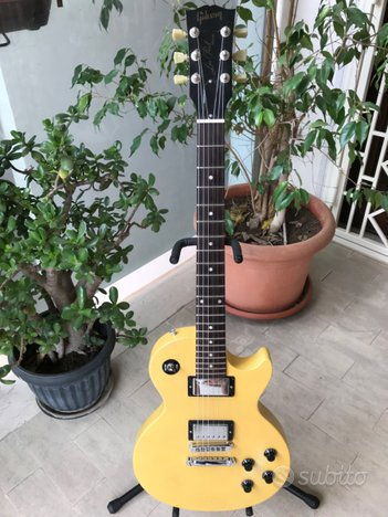 Gibson Les Paul Special faded Yellow anno 2005