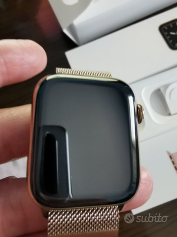 Apple watch 5 gold 44mm acciaio nuovo