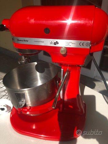 Kitchenaid 5ksm7591x robot da cucina 6,9 l rosso,KitchenAid