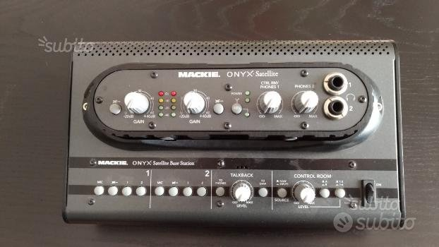 Mackie Onyx Satellite Scheda Audio