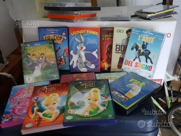 Lotto DVD bambini Disney + 3 adulti