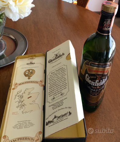 Glenfiddich scotch whisky - special old reserve