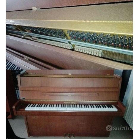 Pianoforte verticale furstein farfisa 105 noce