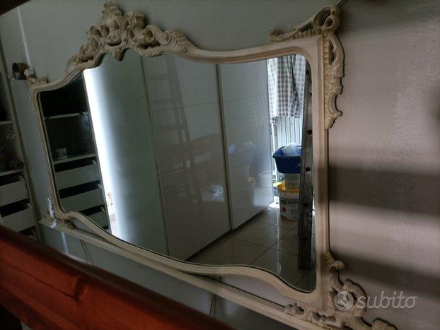 Grande Specchio 223 x 113h bianco