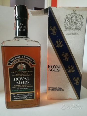 Royal Ages 15 years old scotch whisky 0,75 Lt
