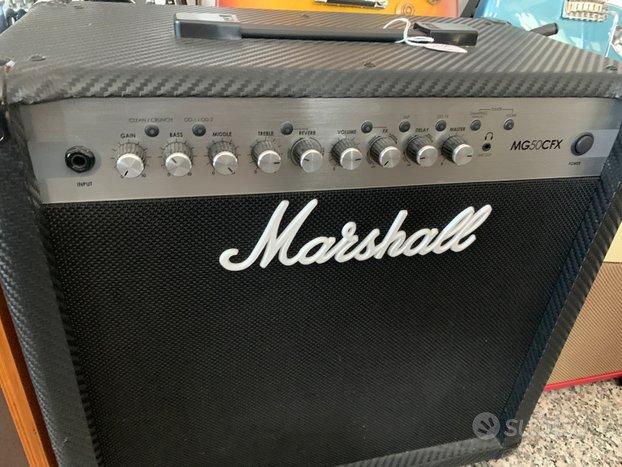 Marshall Amplificatore x chitarra Nuovo( 50 watt)