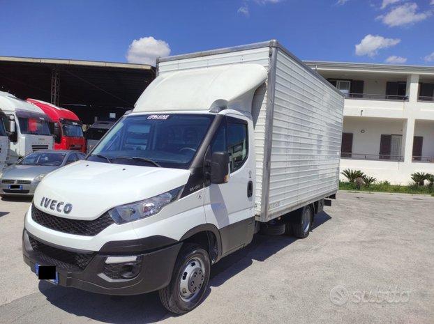 Iveco daily 35c13 furgone in lega mt 4.30+sponda
