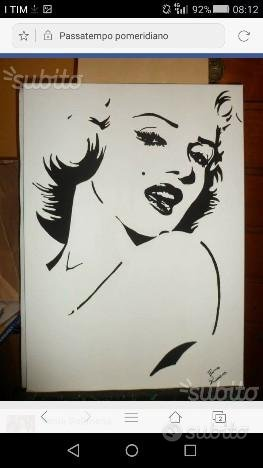 Tela Marilyn Monroe